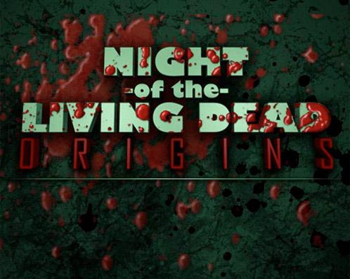 Sangriento logo de Night of the Living Dead: Origins