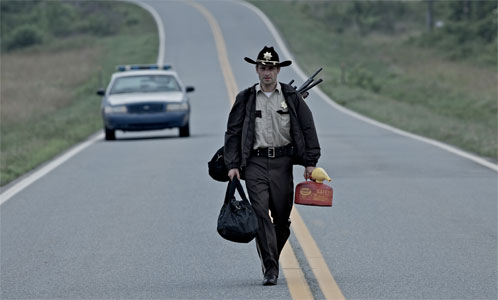 "Primer vistazo a Rick Grimes (Andrew Lincoln) en ""The Walking Dead"""