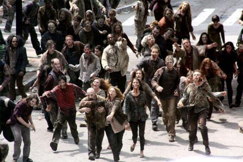 """Zombis y más zombis en """"The Walking Dead"""""""