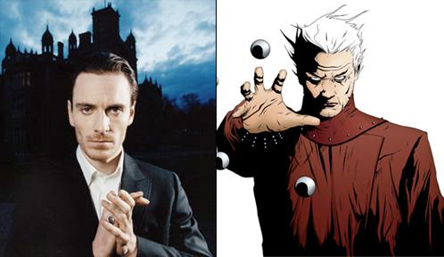 Michael Fassbender como Magneto
