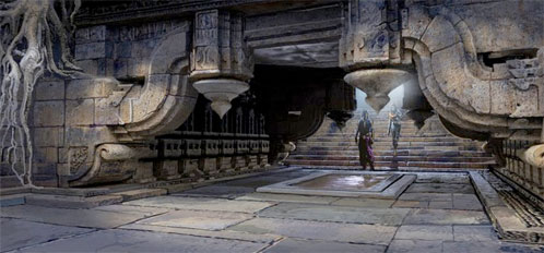 Arte conceptual de Prince of Persia: las arenas del tiempo
