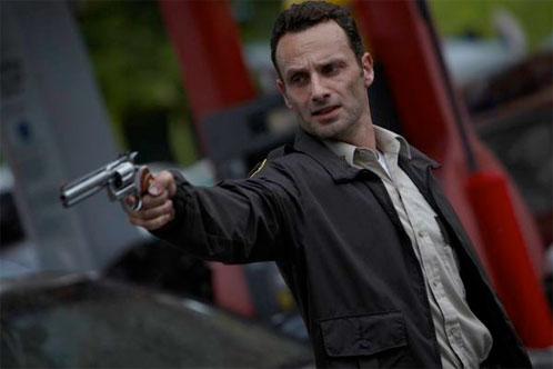 """Nueva imagen de Andrew Lincoln como Rick Grimes en """"The Walking Dead"""""""