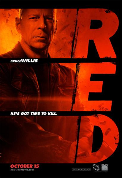 Primer póster de Red