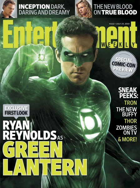 Portada del próximo número de Entertainment Weekly... Green Lantern!