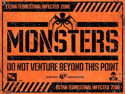 Primer cartel de Monsters