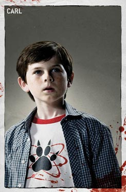 """The Walking Dead"": Carl"