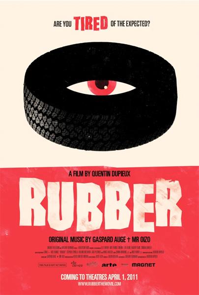 Póster de Rubber