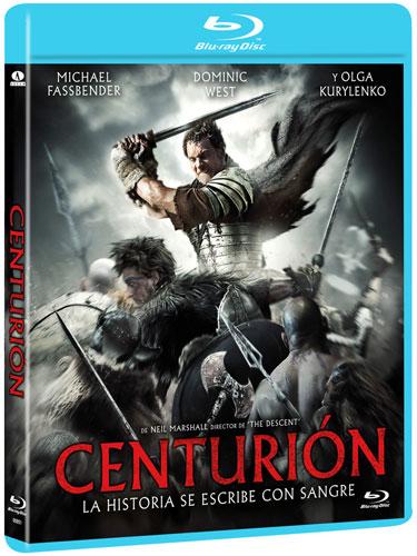 Carátula de la edición en Blu-Ray de Centurión
