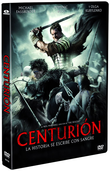 Carátula de la edición en DVD de Centurión