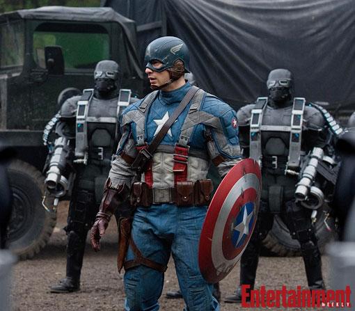 La nueva imagen de Captain America: The First Avenger en alta calidad