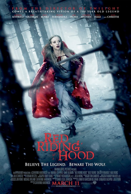 Nuevo cartel de Red Riding Hood