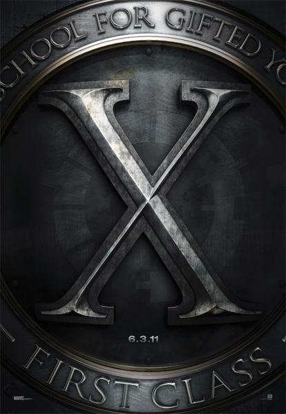 Primer molón cartel de X-Men: First Class