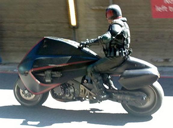 La moto del Juez Dredd