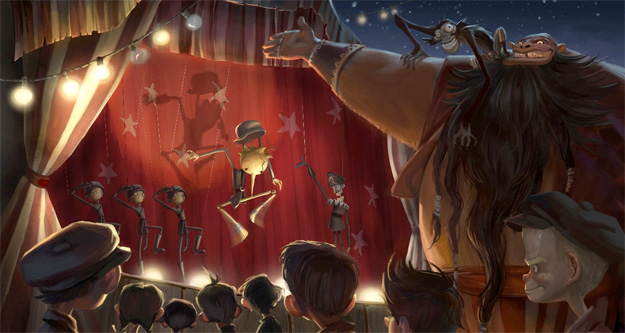 Concept Art de Pinocchio
