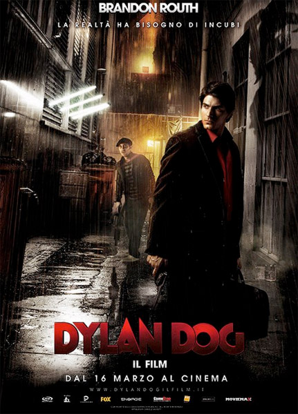 Nuevo cartel italiano de Dylan Dog: Dead of Night