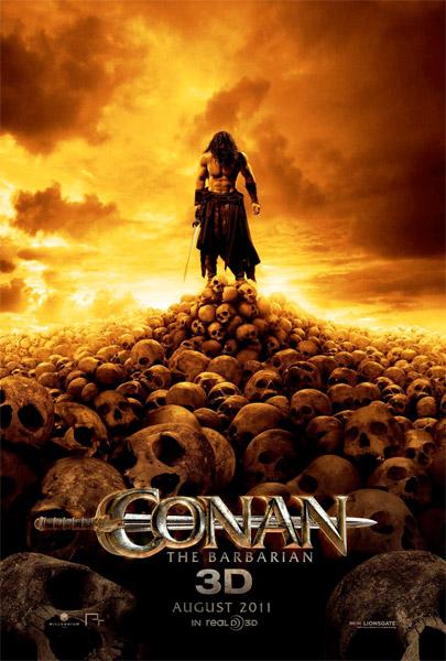 Ahora el cartel cartel, sin movimiento, de Conan the Barbarian