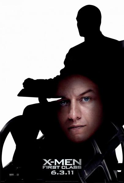 Nuevo caspapóster de X-Men: primera generación