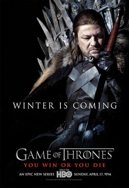 """Cartel de """"Game of Thrones"""": Eddard Stark"""