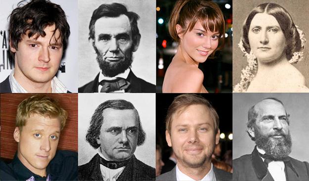 Los personajes históricos de Abraham Lincoln: Vampire Hunter (imagen de ComingSoon.net)