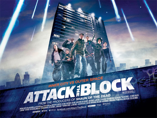 Primer cartel de Attack the Block de Joe Cornish