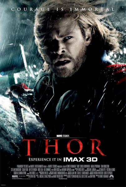 Nuevo cartel de Thor para su estreno en salas IMAX