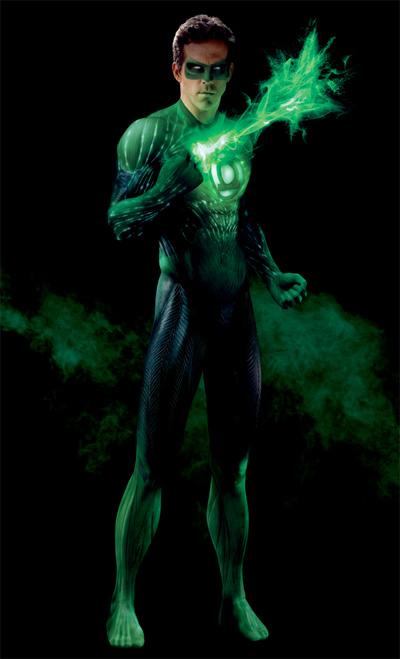 Green Lantern al completo