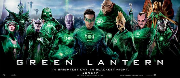 Nuevo banner de Green Lantern con algunos miembros de las Green Lantern Corps