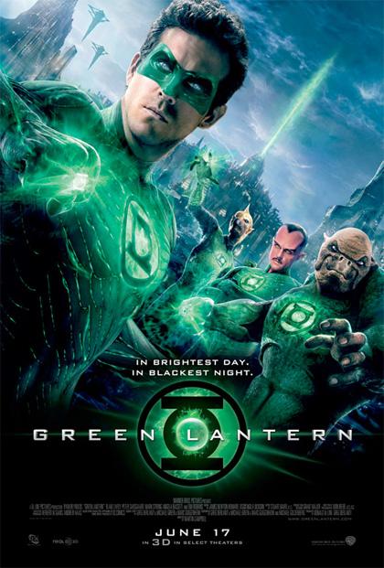 Y otro cartel más de Green Lantern