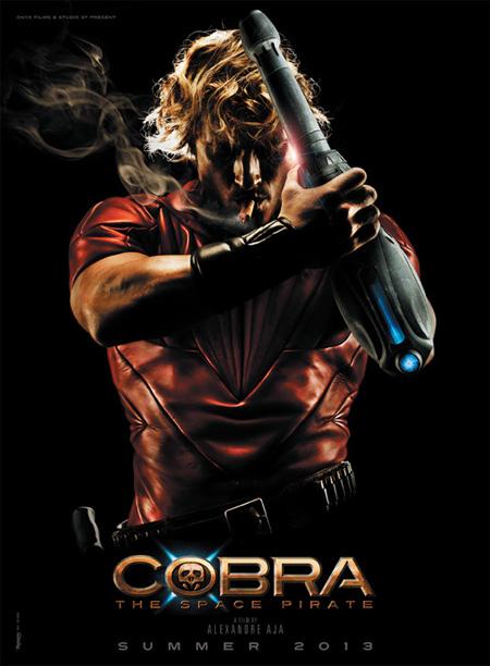 Primer molón cartel de Cobra: The Space Pirate de Alexandre Aja