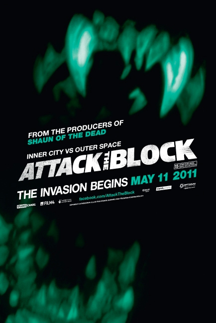 Nuevo cartel de Attack the Block