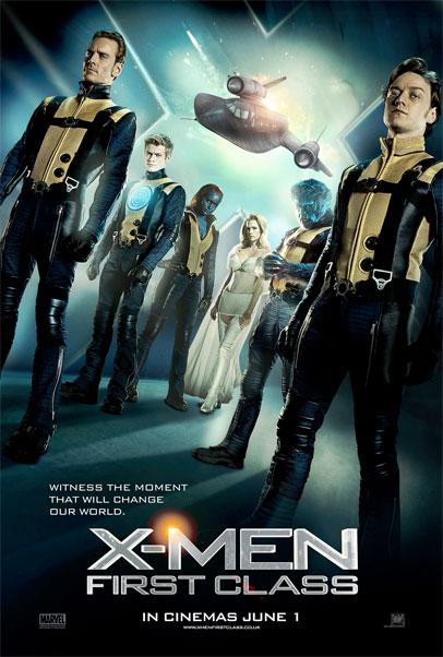 Nuevo cartel, y van un ciento, de X-Men: primera generación