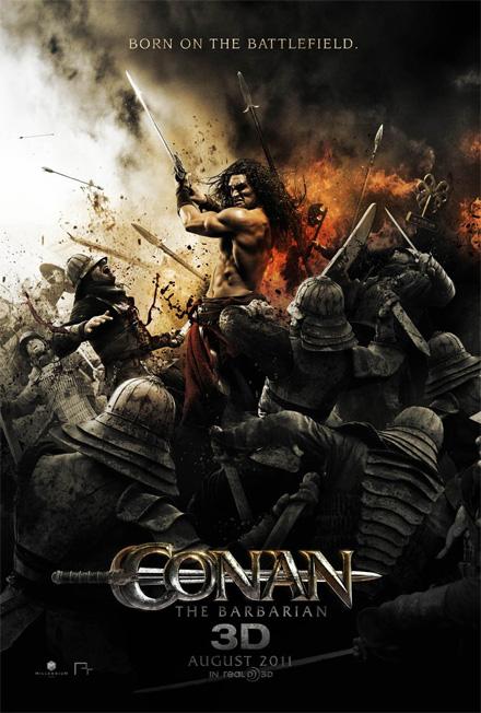 Magistral nuevo cartel de Conan el bárbaro
