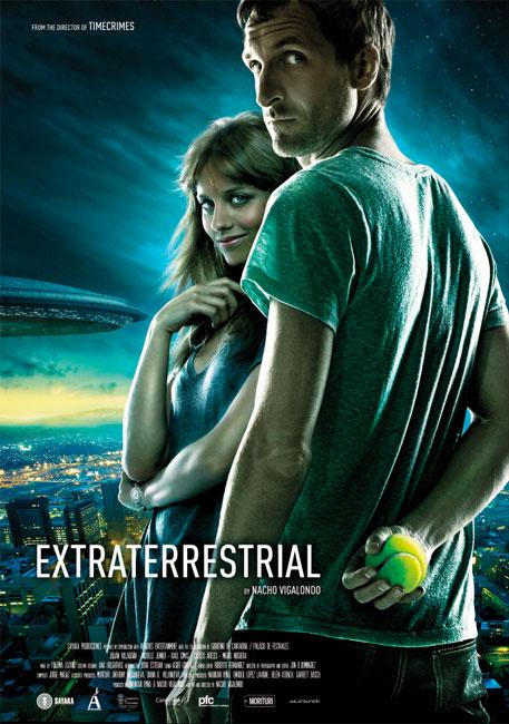 Teaser póster para el mercado internacional de Extraterrestre de Nacho Vigalondo