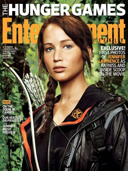 Primer vistazo a Jennifer Lawrence en The Hunger Games