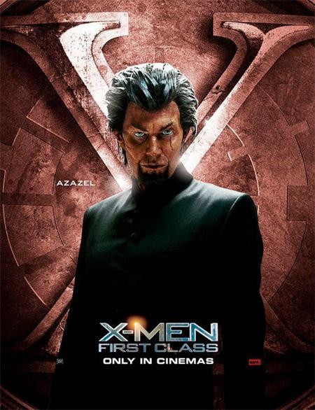 Póster de X-Men: primera generación dedicado a Azazel