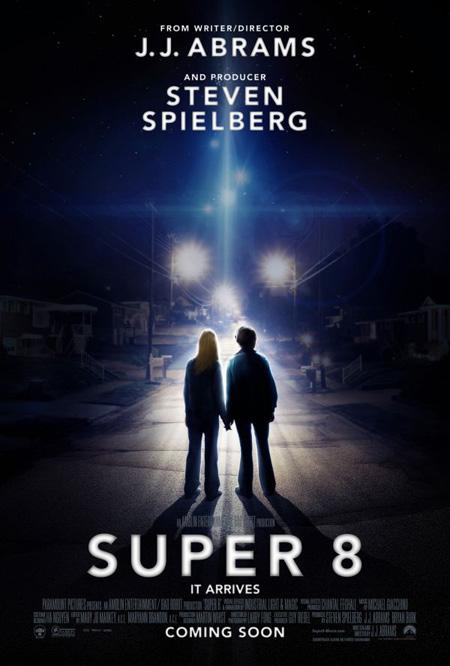 El cartel de Super 8 que el otro día salió para Japón ahora en formato USA