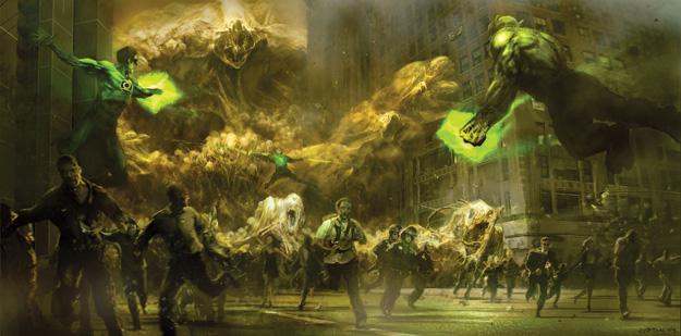 Fabuloso concept art de Green Lantern