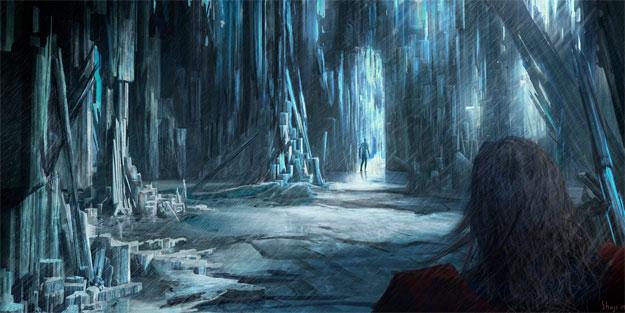 Concept Art de Thor: el reino helado de Laufey