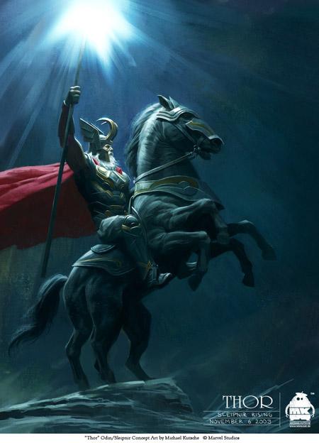 Concept Art de Thor