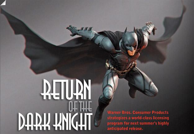 ¿Promo de Warner Bros. para The Dark Knight Rises?