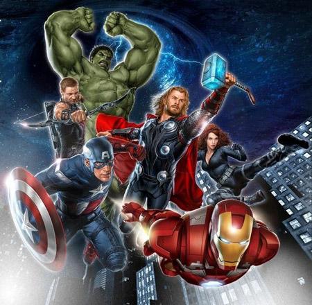 Mejor vistazo a The Avengers