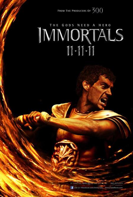 Nuevo cartel de Immortals de Tarsem Singh