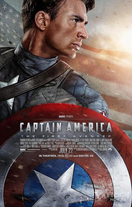 Nuevo cartel oficial de Captain America: The First Avenger
