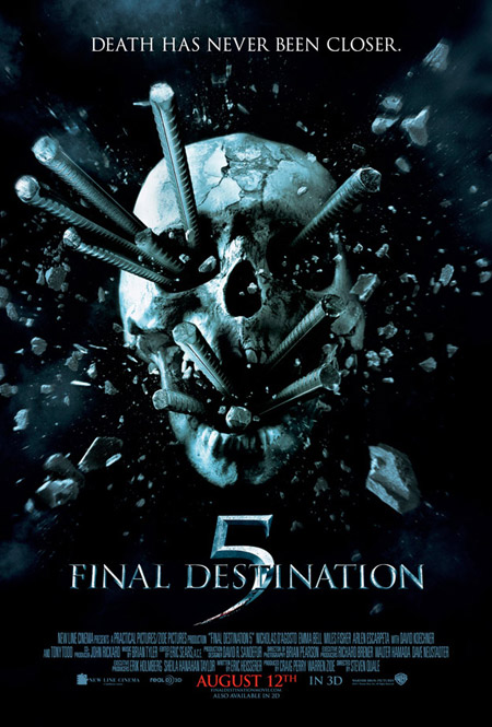 Nuevo cartel de Final Destination 5