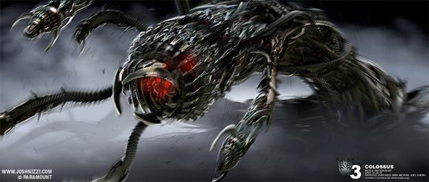 Espectacular concept art de Transformers: el lado oscuro de la luna