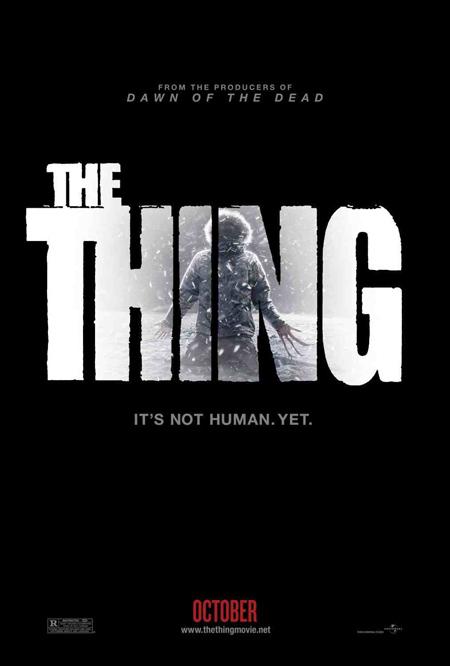 El primer cartel de The Thing