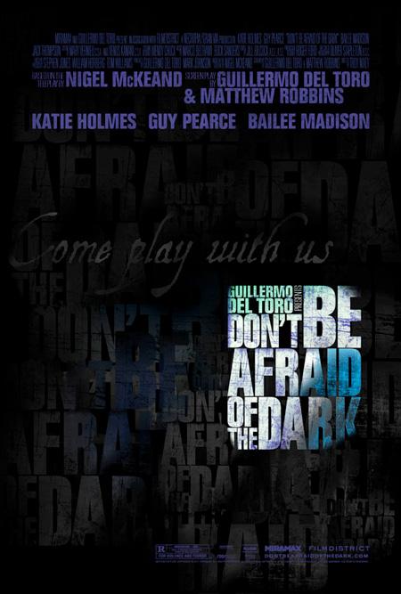 El nuevo cartel de No tengas miedo a la oscuridad