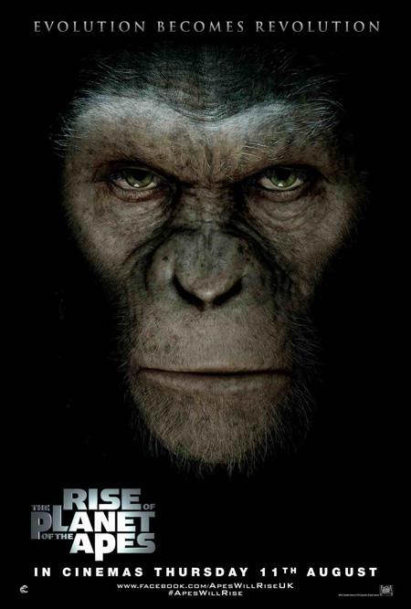 Nuevo cartel de El origen del planeta de los simios