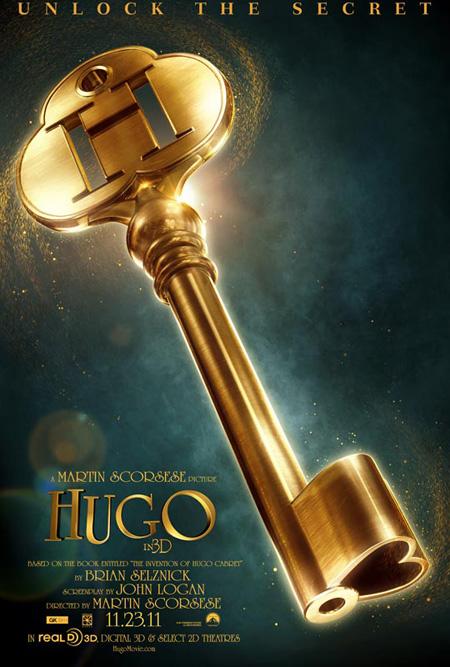 Primer cartel de Hugo de Martin Scorsese