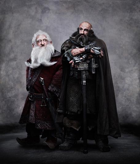 Balin y Dwalin en The Hobbit
